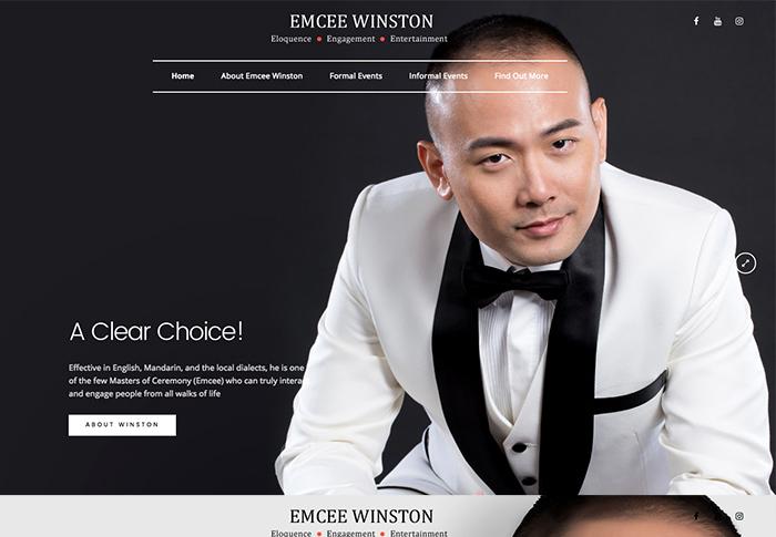 Emcee Winston