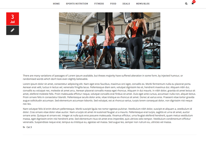 Fitness and Supplement Company, Singapore