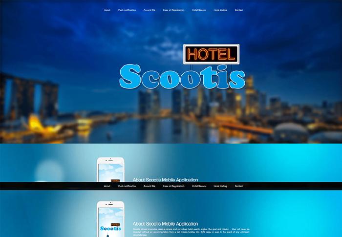 Travel Mobile App, Singapore