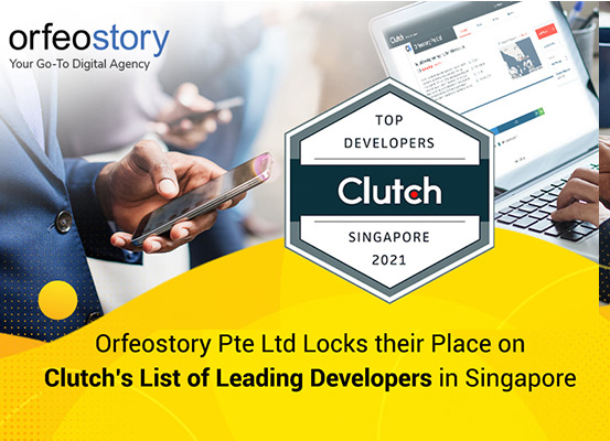 Orfeostory Pte Ltd Locks their Place on Clutch's List of Leading Developers in Singapore